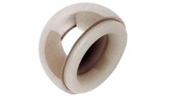 规格齐全,从39mm到55mm每隔1mm一个规格;44mm以上配合独特的防脱位卡环能有效的防止脱位;自动中心化设计使臼杯始终处于中立位,避免碰撞引起脱位。